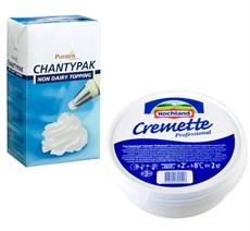 Сливки, сыр, молочная продукция