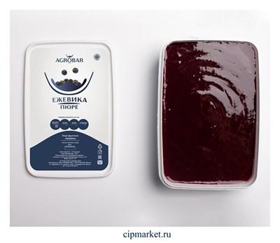 Пюре замороженное Агробар Ежевика. Россия. Вес: 1 кг - фото 10044