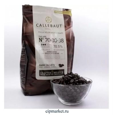 Шоколад Callebaut горький 70,5% какао, Бельгия, фасовка. Вес: 100 гр - фото 10047