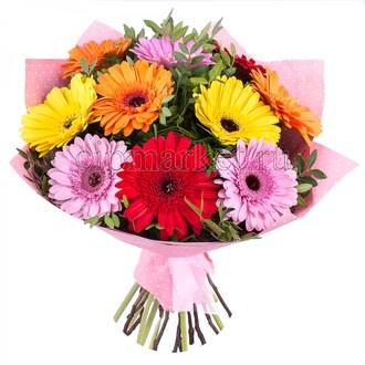 Съедобная картинка Букет цветов № 01241, лист А4. Вафельная/сахарная картинка. - фото 4684