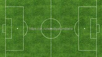 Съедобная картинка Футбольное поле № 1623, лист А4. Вафельная/сахарная картинка. - фото 4704