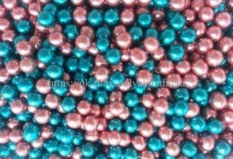 Шарики сахарные металлизированные Микс №6, 5 мм. Вес: 30 грамм. - фото 4826