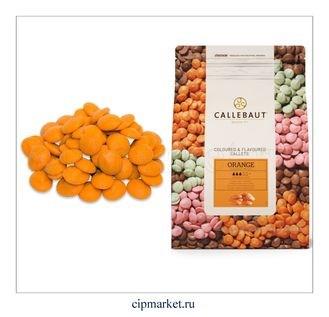 Шоколад Callebaut Апельсин, Бельгия, фасовка. Вес: 100 гр. - фото 4979