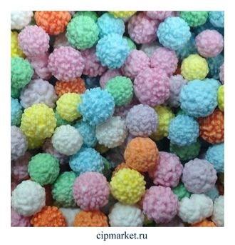 Драже сахарное Мимоза разноцветное, размер: 6 мм. Вес: 50 гр - фото 5352