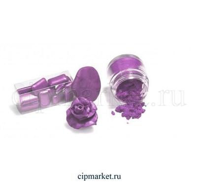 """Кандурин-пищевой краситель """"Наш кондитер"""" Фиолетовый. Вес: 5 гр. - фото 5483"""