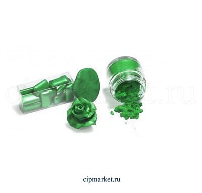 """Кандурин-пищевой краситель """"Наш кондитер"""" Темно-зеленый. Вес: 5 гр. - фото 5487"""