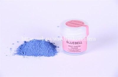 "Сухая краска цветочная пыльца ""Bluebell ""(колокольчик). Вес: 5 гр. - фото 5497"
