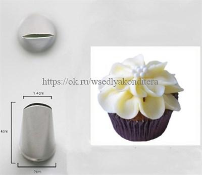 Насадка Цветок  Размер: 4*2*1,4 см. - фото 5563