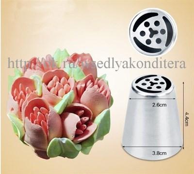 """Насадка """"Тюльпан"""".Размер: 4,4 см * 2.5 см * 3.8 см. - фото 5605"""