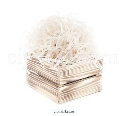 Наполнитель бумажный Белый. Вес: 50 гр. - фото 5817
