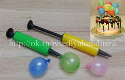 Насос для шариков ручной - фото 5952