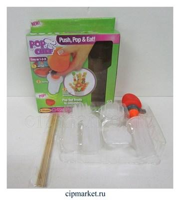 Форма для канапе и печенья Поп Шеф, в комплекте 10 предметов. - фото 5978
