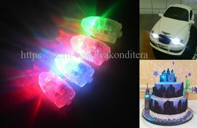 Модуль светодиодный разноцветный - фото 6147