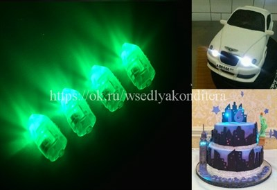 Модуль светодиодный зеленый - фото 6148