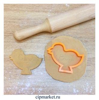 Вырубка Цыпленок. Материал: пластик. Размер: 8 см. - фото 6210