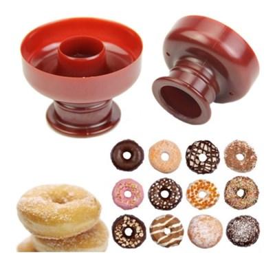 Форма-вырубка для пончиков. Размер: 8,5х8,5х7 см - фото 6221