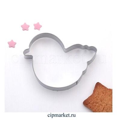 Форма для вырезания печенья Уточка. Размер: 6,5 см - фото 6226