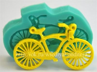 """Молд """"Велосипед"""". Размер : 7,3* 5 см. - фото 6273"""