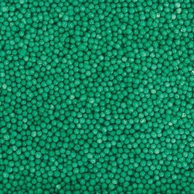 Посыпка шарики зеленые, 2 мм, вес: 50 грамм. - фото 6652