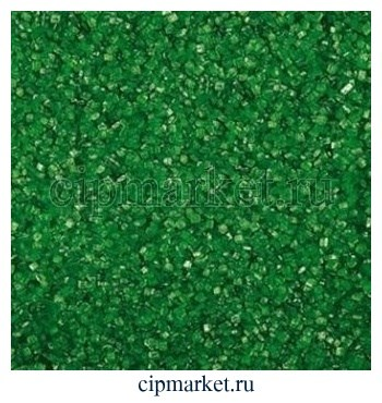 Посыпка сахарные кристаллы зеленые. Вес: 100 гр - фото 6660