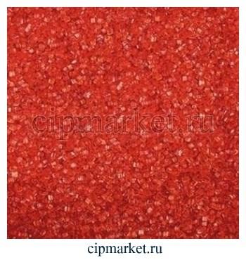 Посыпка сахарные кристаллы красные. Вес: 100 гр - фото 6663