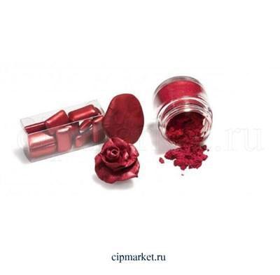 """Кандурин-пищевой краситель """"Наш кондитер"""" Красный. Вес: 5 гр. - фото 6772"""