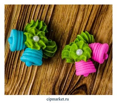 Фигурка сахарная Колокольчики. Цвет микс. Размер: 3 см - фото 6870