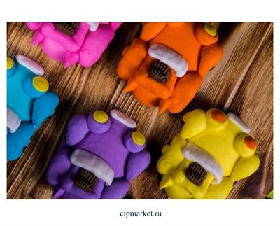 Фигурка сахарная Гонки. Машинки цвета микс. Размер 5,5 х 4,5 см - фото 6872