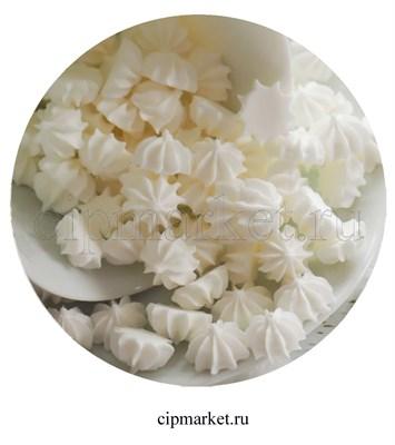 Сахарные фигурки мини-безе Белые. Вес: 35 гр. Размер: 1 см. - фото 7002