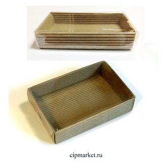 Коробка для сладостей с прозрачной крышкой. Размер: 14*10,5*2,5. - фото 7038