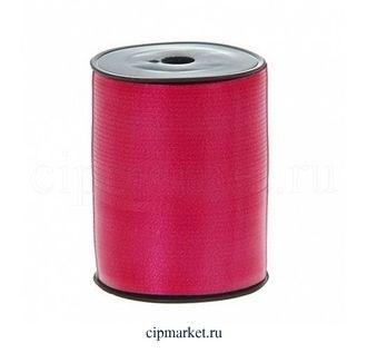Лента полипропилен Красная. Ширина: 0,5 см. Длина: 230 м. - фото 7104