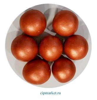 Посыпка-драже сахарное BIAMIX шары Бронзовые, 2 см. Вес: 30 гр, Греция - фото 7281
