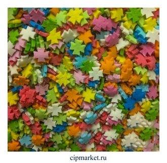 Посыпка Крест Микс №1 разноцветная ФСД. Вес: 50 гр. - фото 7322