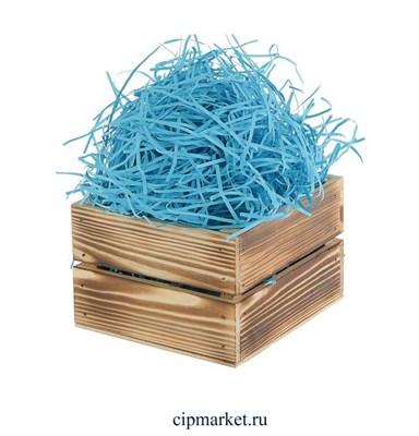 Наполнитель бумажный Голубой. Вес: 50 гр. - фото 7488