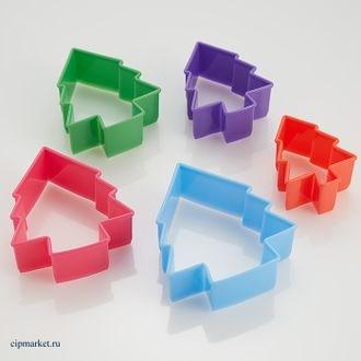 Набор форм Ёлочки, 5 штук - фото 7714