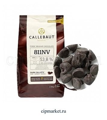 Шоколад Callebaut темный 53,8% какао, Бельгия, фасовка. Вес: 100 гр. - фото 7840