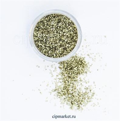 Блёстки пищевые СК Золото. Вес: 5 гр. Россия - фото 8006