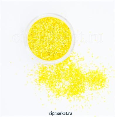 Блёстки пищевые СК Жёлтые. Вес: 5 гр. Россия - фото 8014