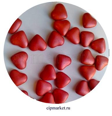 Посыпка-драже сахарное BIAMIX Красные сердца. Вес: 30 гр, Греция - фото 8258