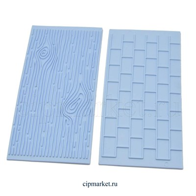 Комплект из 2-х текстур:кирпичная стена и древесина. Размер: 15cm x 7cm. - фото 8312