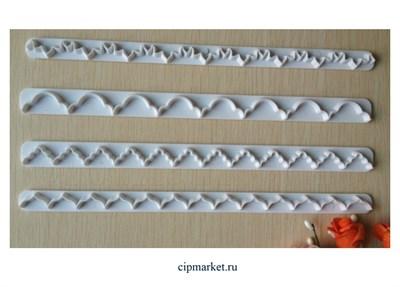 Бордюр-вырубка Волна, 4 шт. - фото 8313