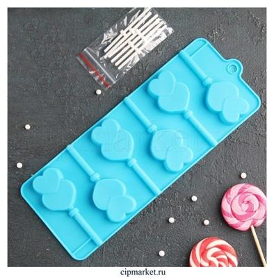 Форма для шоколада и конфет Влюблённость. Размер: 24*9,5 см. - фото 8391
