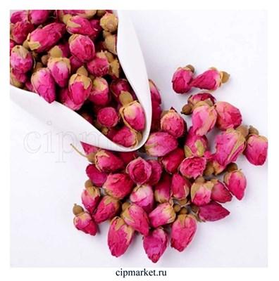 Бутоны роз сушеные, кулинарные сухоцветы-декор. Россия. Размер: 2-3 см. Вес: 20 гр. - фото 8443