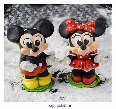 Фигурка сахарная Мышь сувенирная. Цвет микс. Размер: 9 см - фото 8629