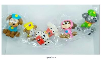 Фигурка сахарная Веселые собачки, набор 5 шт. Цвет микс. Размер: 3,5-6 см - фото 8633
