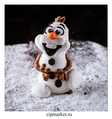 Фигурка сахарная Снеговичок. . Цвет микс. Размер: 7,5 см - фото 8648
