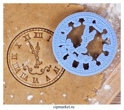 Формочка для пряников Куранты. Размер: 9,5×9,5×1,5 см - фото 8682