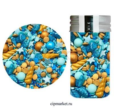 Посыпка сахарная ассорти MIXIE Крошка-единорожка. Вес: 50 гр, Россия - фото 8957