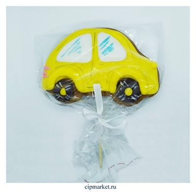 Пряник медовый Топпер Машинка. Цвет микс. Размер: 8 см. Вес: 80 гр - фото 9313