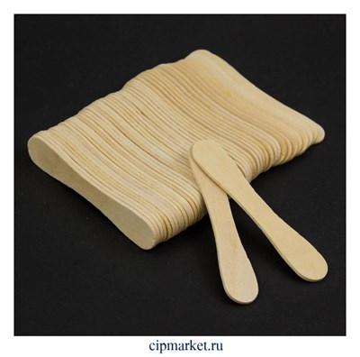 Палочки для мороженого МАГНУМ, набор 50 шт, дерево. Размер: 9,4×1,7 см - фото 9469